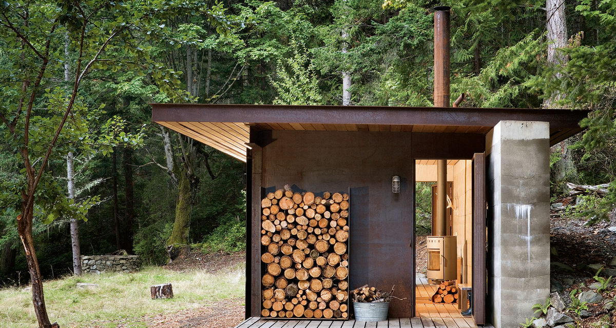 Gulf Islands Cabin (photo from Taschen)