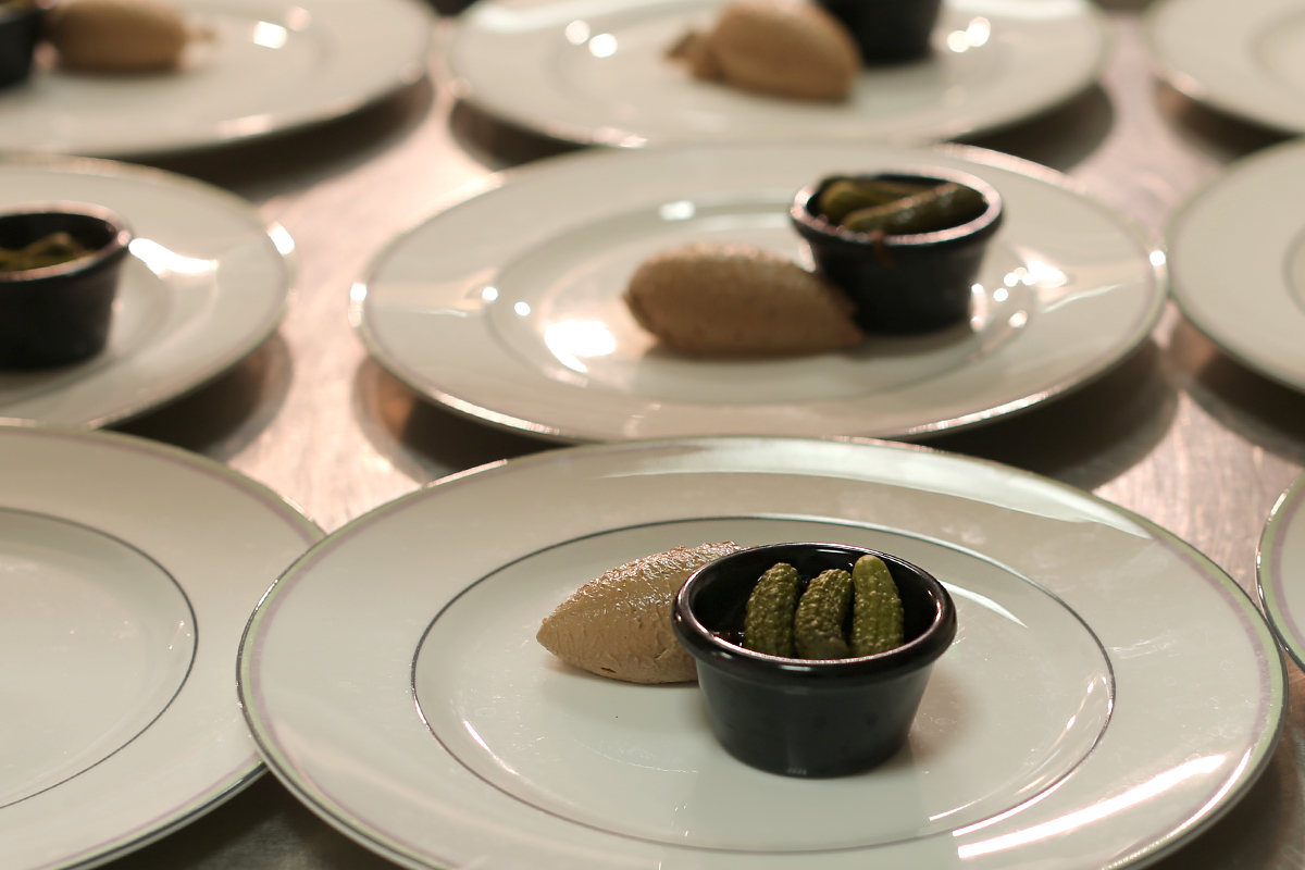 Chicken Liver Pate Designed by Tom Aikens; photo: Xixi Zheng