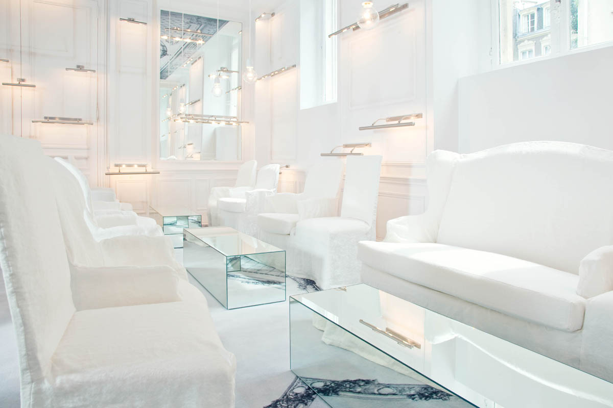 Salon Blanc; photo: la maison Champs Elysees, Paris