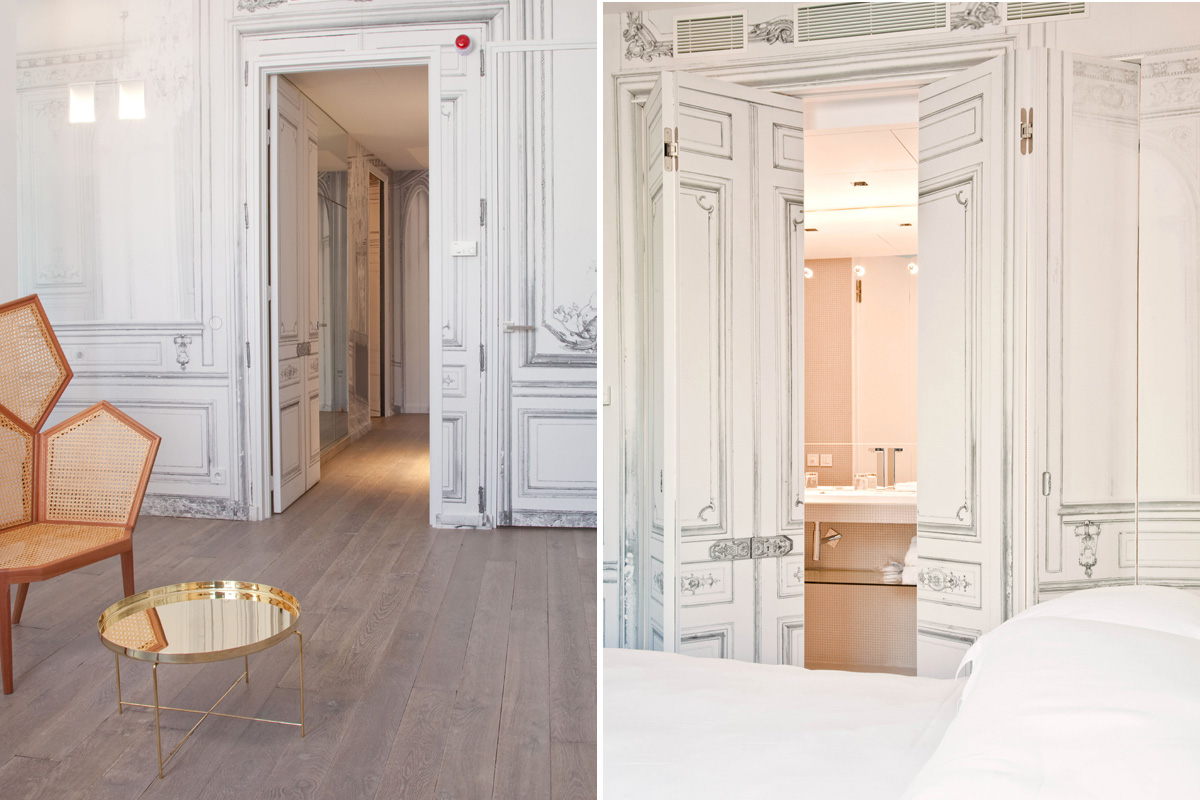 Suite 141; photo: la maison Champs Elysees, Paris