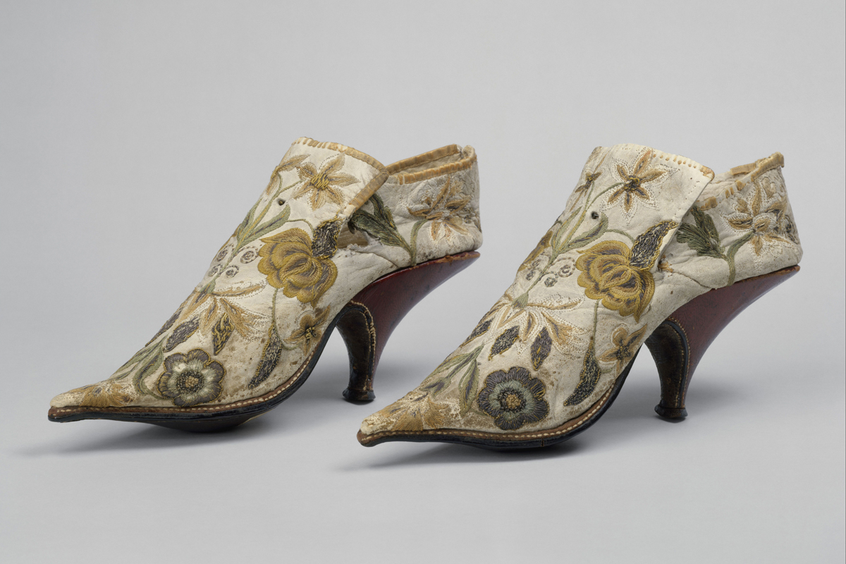 French. Shoes, 1690–1700
