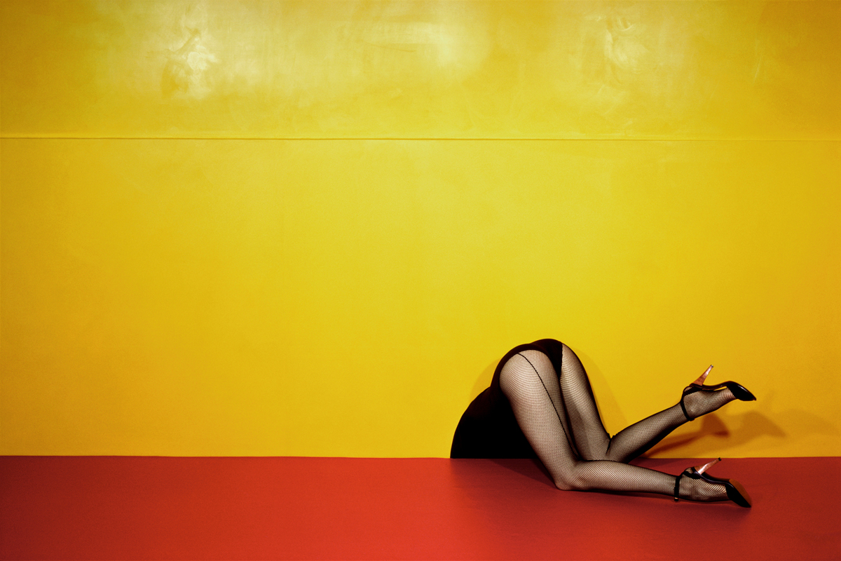1. Charles Jourdan, Spring 1979 © Guy Bourdin