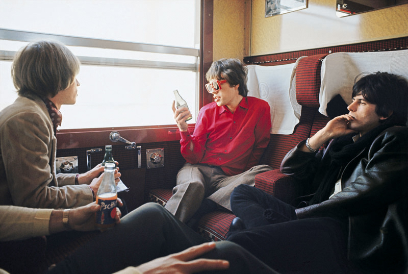 The Rolling Stones on the train to Marseilles