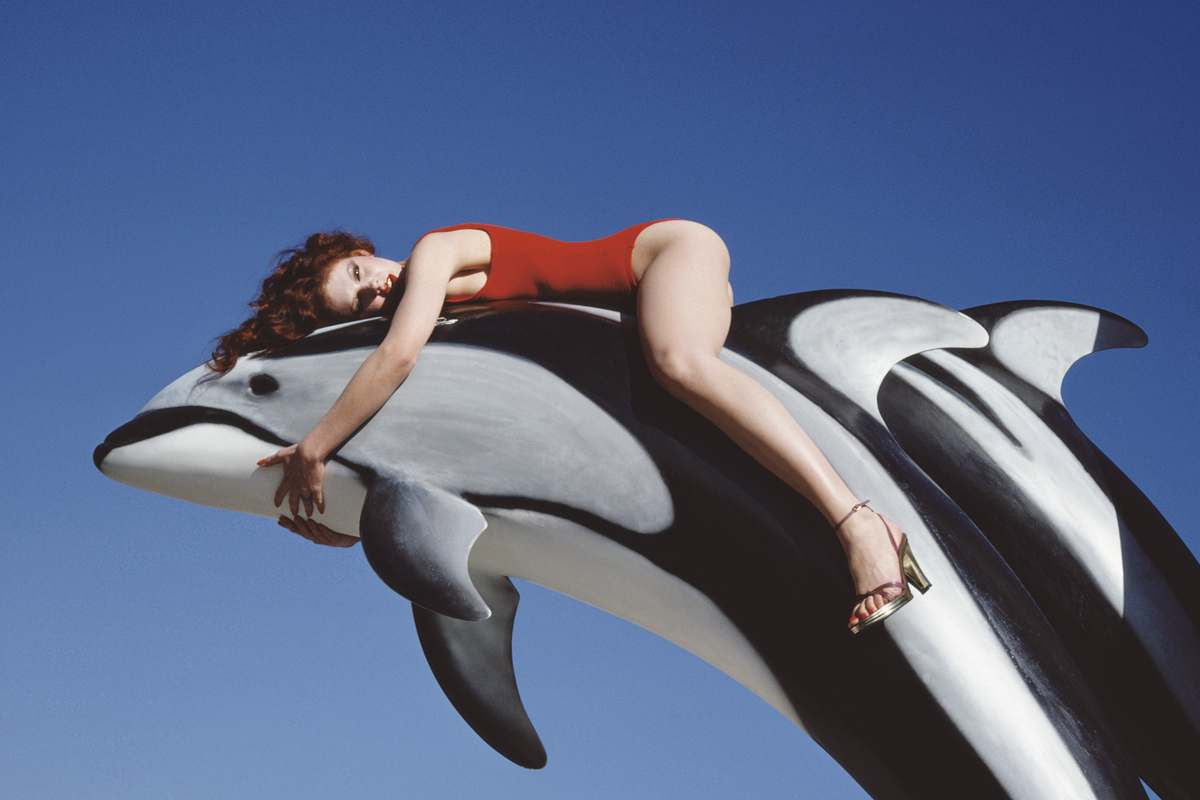 4. Charles Jourdan, Spring 1976 © Guy Bourdin