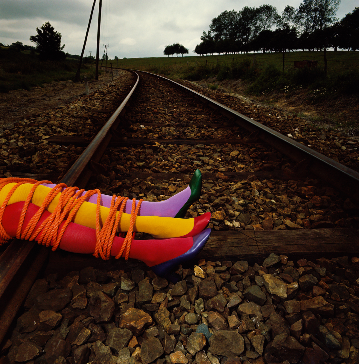7. Charles Jourdan, Autumn 1970 © Guy Bourdin