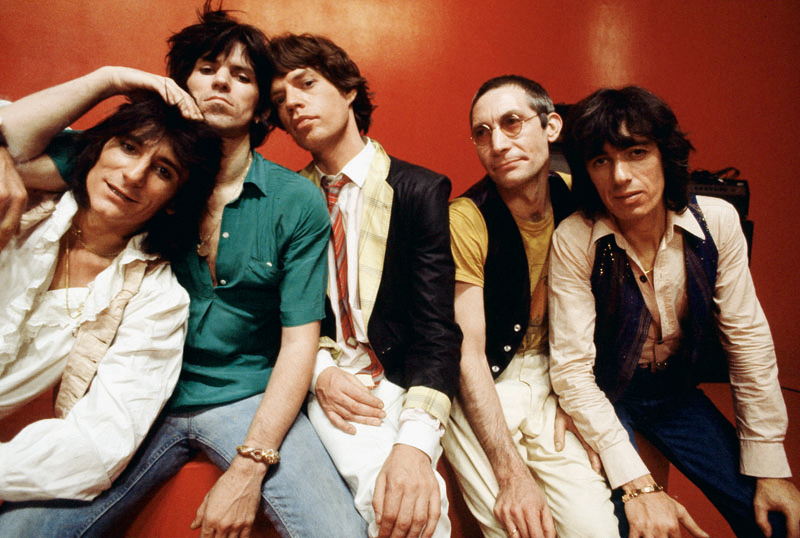 Rolling Stones Group Portrait