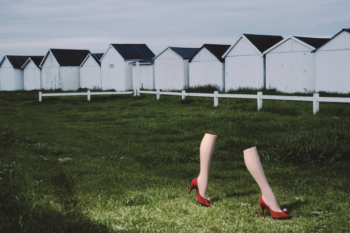 9. Charles Jourdan, Autumn 1979 © Guy Bourdin