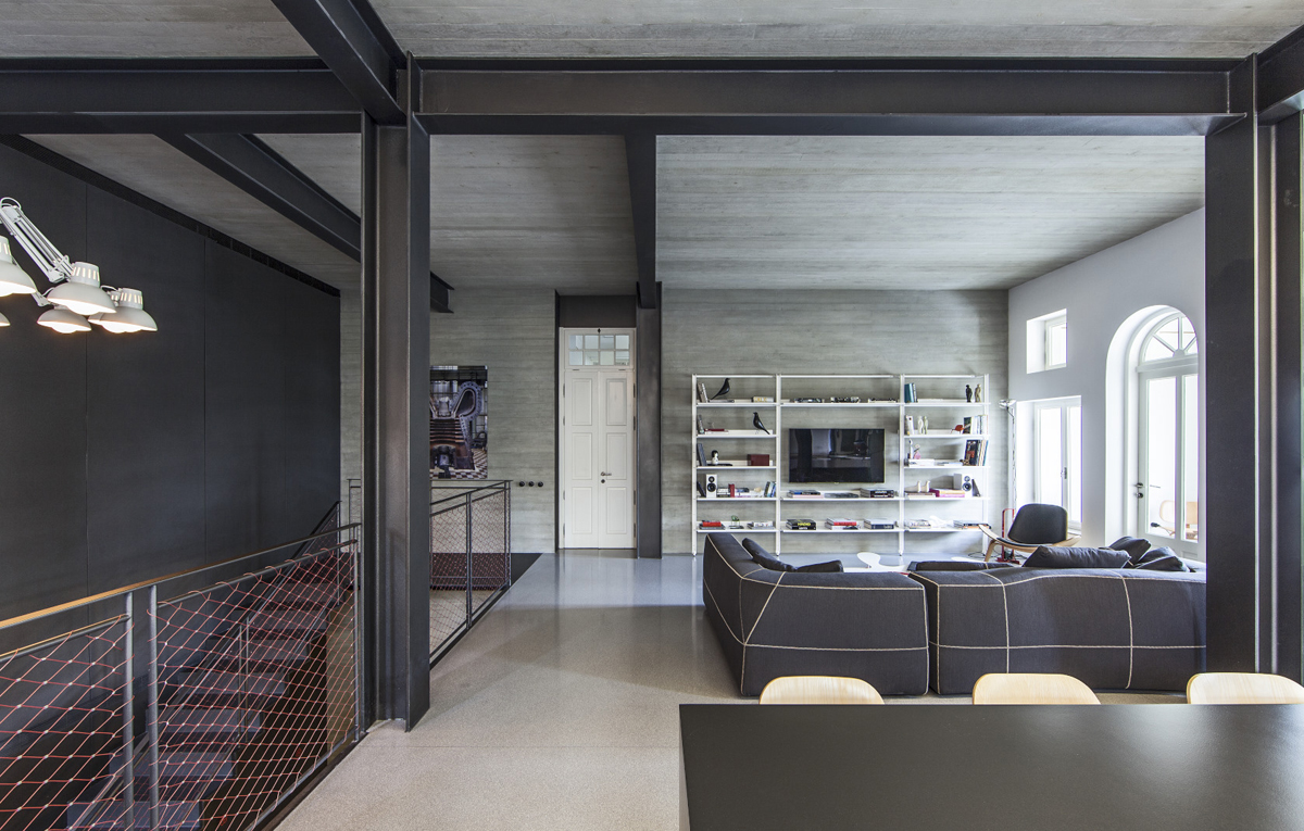 Modernising tel aviv heritage the plus paper for Plan de loft moderne