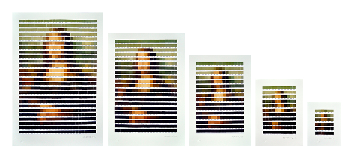Nick Smith Mona Lisa reduction