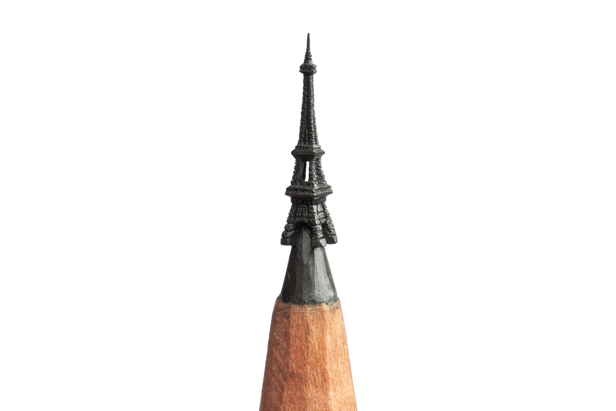 Pencil Art with a Difference