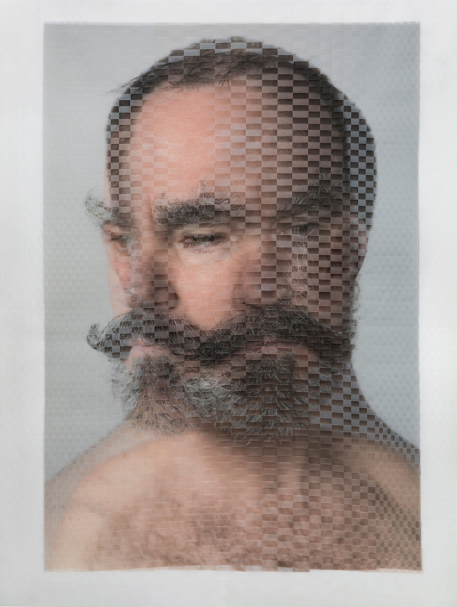 Woven Portrait of Seán Curran Comapny choreographer and artistic director Seán Curran by David Samuel Stern