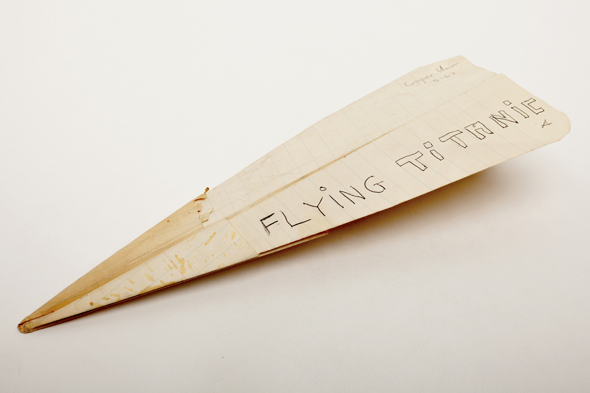 Paper Airplanes and Other Mysterious Objects