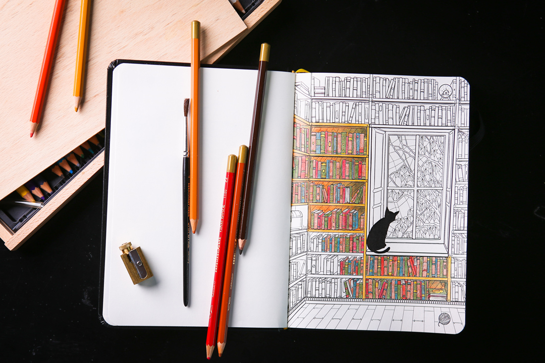 Convenience-Colouring For Notebook Travellers