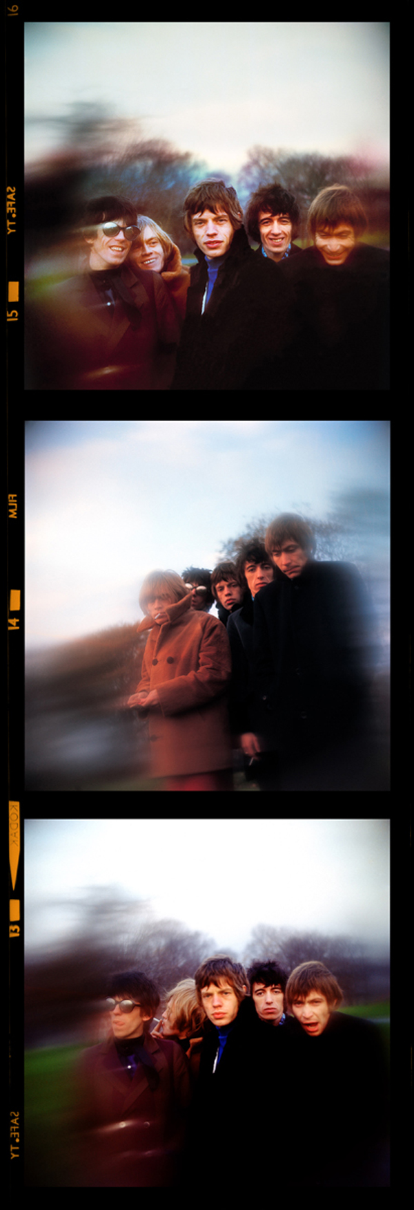 The Rolling Stones on Primrose Hill London 1966