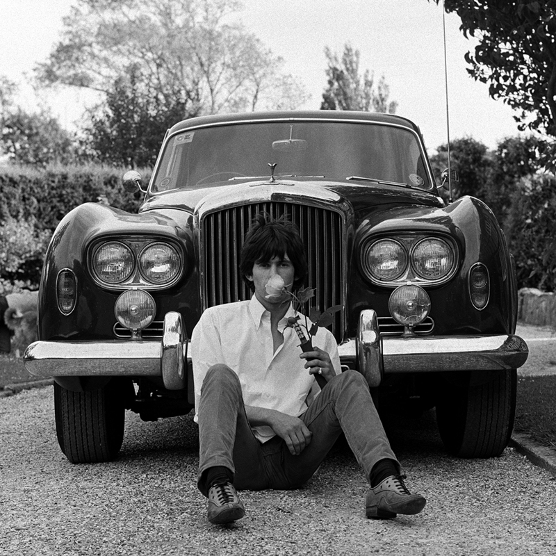 Keith Richards at home 1966