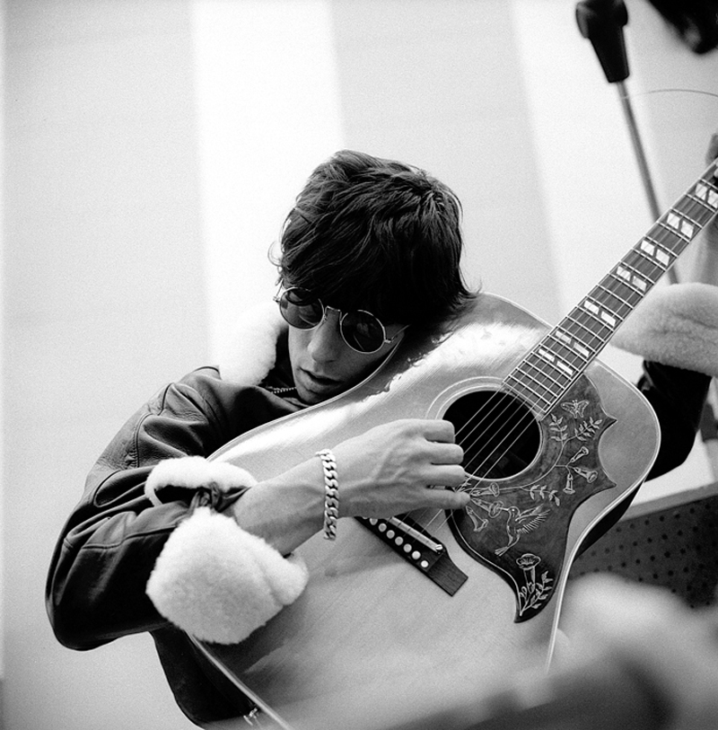 "Keith Richards ""Humingbird"" RCA Studios, Hollywood CA. 1965"