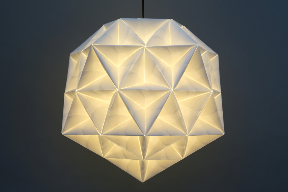 The New Queen of Origami is a Lighting Designer