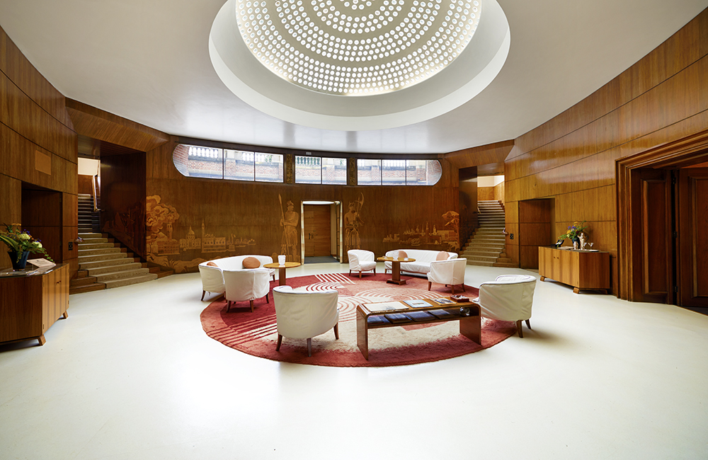 Eltham Palace The Entrance Hall