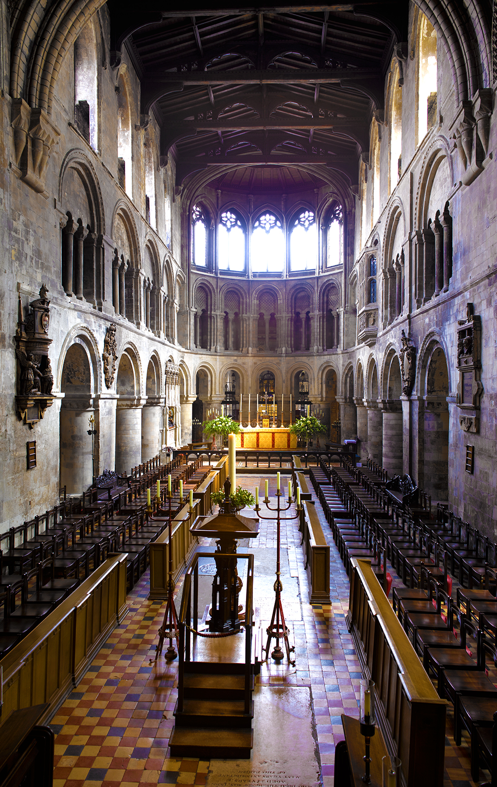 Saint Bartholomew the Great - The oldest Church in London