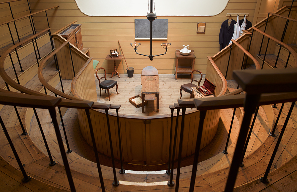 St Thomas Old Operating Theatre and Herb Garret from viewing gallery