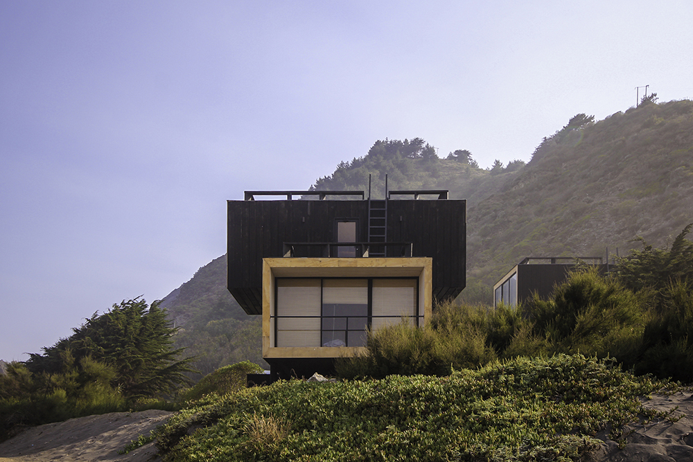 Stunning Views from Stacked Volume House