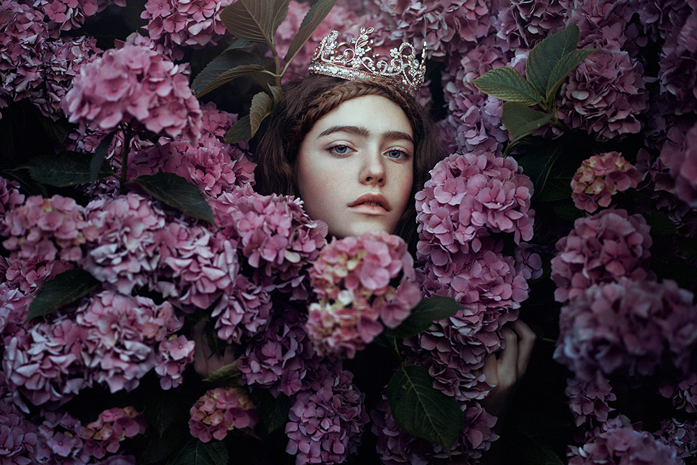 Walk into the Surreal Forest with These Striking Portraits