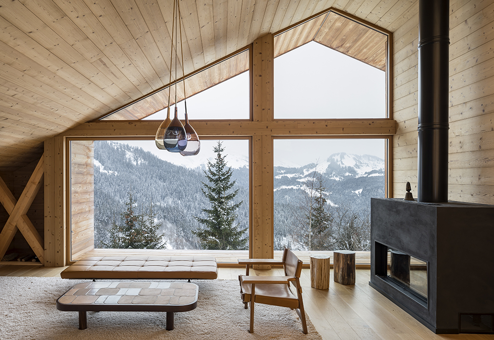 Alpine Cabins Get A Contemporary Update The Plus Paper