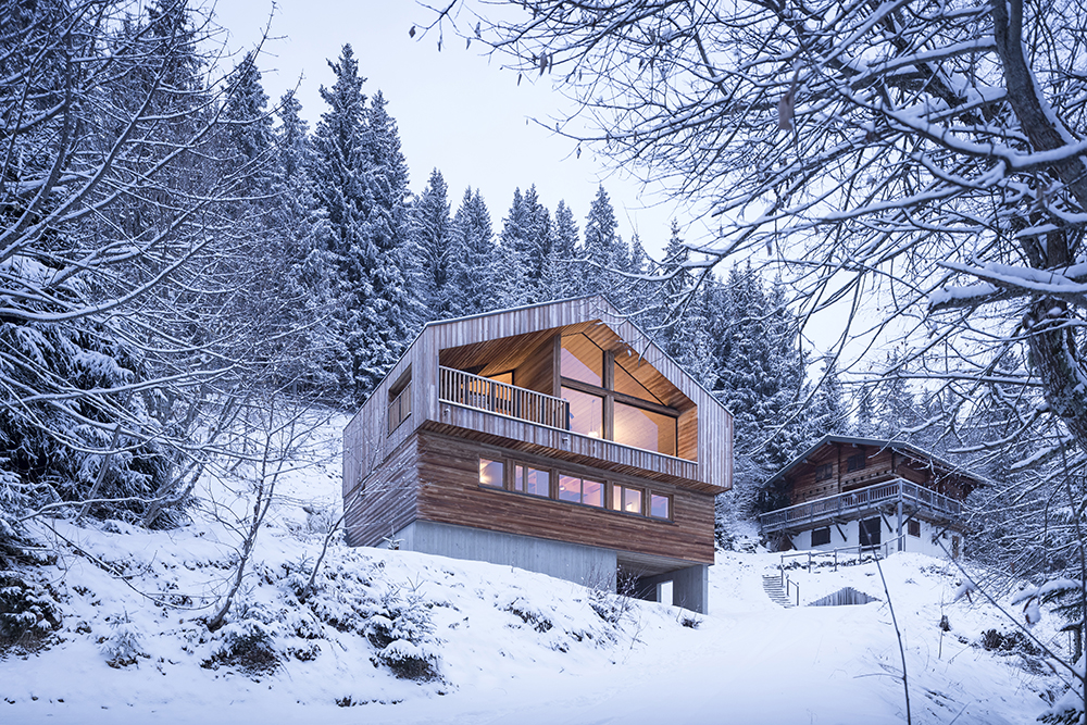 Alpine Cabins Get a Contemporary Update