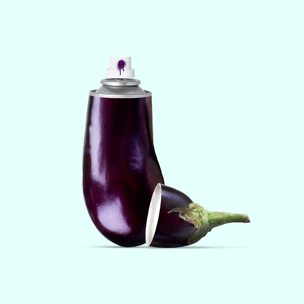 AUBERGINE SPRAY