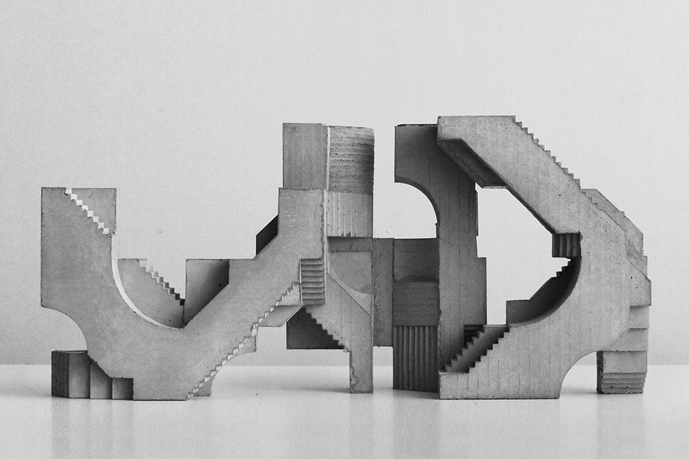 David Umemoto's Architecture Sculptures